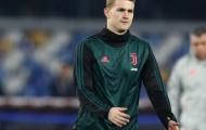 Chối bỏ Barca, De Ligt khẳng định tương lai tại Juventus