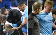 De Bruyne khóc nức nở sau chấn thương bất ngờ