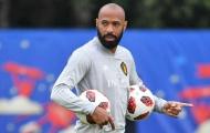 Thierry Henry trở lại ĐT Bỉ