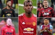 9 cái tên có thể rời Man Utd ngay ở mùa Hè năm nay
