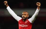 Henry: 'Cậu ấy sẽ làm bất cứ điều gì để đảm bảo Arsenal giành chiến thắng'