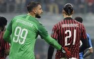 Ibrahimovic phá vỡ im lặng về Donnarumma và Giroud