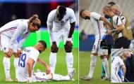 Pháp hoảng loạn khi Benzema chấn thương, nguy cơ lỡ EURO