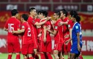 Tái lập màn hủy diệt 5-0, Trung Quốc củng cố suất vào VL World Cup thứ 3