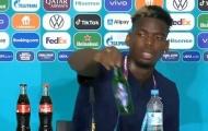 Sau Ronaldo, tới lượt Pogba vứt bỏ đồ uống của nhà tài trợ