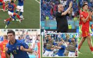 Điểm nhấn Italia 1-0 Wales: Phương án B hoàn hảo, Bale 'ở ẩn'