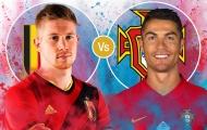 5 điểm nóng định đoạt cục diện Bồ Đào Nha vs Bỉ