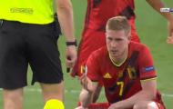 Cận cảnh pha tắc bóng khiến De Bruyne rời sân