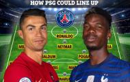 Nếu chiêu mộ Ronaldo, Pogba, đội hình PSG khủng đến cỡ nào?