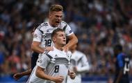 Toni Kroos lên tiếng khi Joshua Kimmich chơi trái sở trường ở tuyển Đức