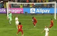 Vừa ghi bàn, Lukaku lập tức làm 1 điều với Donnarumma