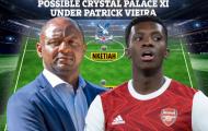 Vieira ngồi vào ghế nóng, đội hình Crystal Palace sẽ như thế nào?