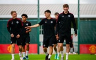 Tân binh và 4 cầu thủ của Man Utd có số áo mới