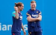 Ronald Koeman lên tiếng về tương lai Messi và Griezmann tại Barca