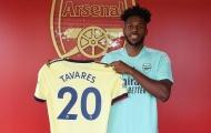 CHÍNH THỨC: Arsenal đón tân binh đầu tiên