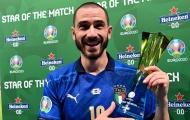 Đốt lưới tuyển Anh, Bonucci thiết lập những kỷ lục ấn tượng