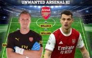 Đội hình với 11 cái tên có thể rời Arsenal ngay trong mùa Hè này