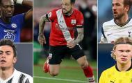 5 ngôi sao ngon bổ rẻ thay thế Aguero dành cho Man City