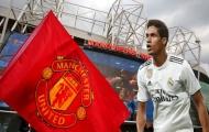 Real vui vẻ để Varane đến Man Utd, với một điều kiện