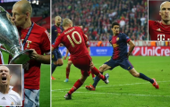 Arjen Robben đi đến hồi kết