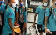 Olympic Brazil hạ cánh xuống Nhật Bản, Dani Alves khư khư giữ hàng lạ