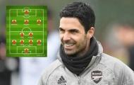 Đội hình Arsenal lý tưởng mùa tới: 2 động cơ tuyến giữa