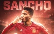 Không phải số 7, lộ diện số áo huyền thoại của Sancho tại Man Utd