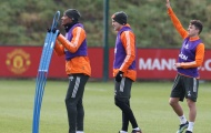 Man Utd đón 2 cái tên trở lại Carrington tập luyện