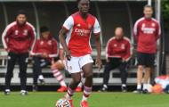 Tân binh Lokonga gửi thông điệp đến NHM sau trận ra mắt Arsenal