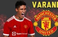 Chữ ký sau Varane chứng tỏ mục tiêu tối thượng của Man Utd hè 2021