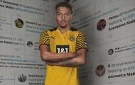 CHÍNH THỨC! Dortmund công bố tân binh, tiền về túi Arsenal