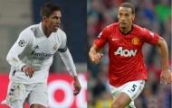 """Patrice Evra: """"Varane làm tôi nhớ đến Rio Ferdinand"""""""