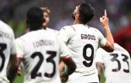 Giroud ra mắt hoàn hảo, AC Milan hòa Nice