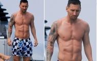 Messi khoe cơ bụng trong chuyến nghỉ mát cùng Suarez, Fabregas