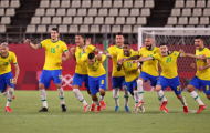Hạ Mexico sau loạt luân lưu, Brazil giành vé vào chung kết Olympic