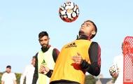 Pereira khiến Fernandes trầm trồ trên sân tập Man Utd