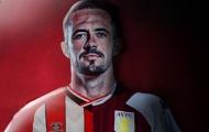 CHÍNH THỨC! Xài trước tiền bán Grealish, Aston Villa công bố tân binh 30 triệu bảng thứ 2