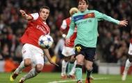Van Persie kêu gọi Man Utd công bố vụ Messi
