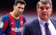 """Chủ tịch La Liga: """"Super League khiến Barca phải trả giá bằng sự ra đi của Messi"""""""
