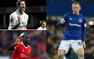 10 cuộc tái hợp đội bóng cũ nổi bật: Pogba, Rooney và Bale