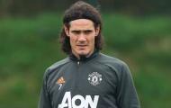 Hé lộ thời điểm Cavani trở lại tập luyện cùng Man Utd