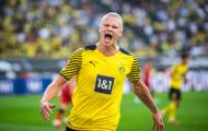Haaland nổ súng, Dortmund quật ngã Frankfurt trong trận cầu 7 bàn thắng