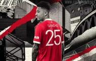 Jadon Sancho và áp lực khổng lồ từ số áo 25