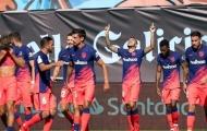 Thiên thần của Simeone lập cú đúp, Atletico đả bại Celta trong trận đấu có 2 thẻ đỏ