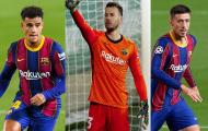 Si mê song sát Arsenal, Barca mang 3 vật tế thần đến trao đổi?