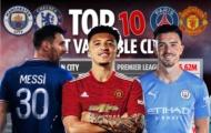 Top 10 CLB đắt giá nhất: Man Utd xếp thứ 4, PSG chưa phải độc tôn