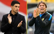 'Arsenal hãy sa thải Arteta và mang Conte về Emirates'