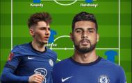 Đội hình 11 cầu thủ cho mượn của Chelsea: Nhà vô địch EURO 2020