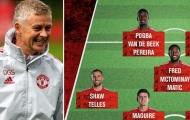 Chiều sâu đội hình tuyệt vời của Man Utd