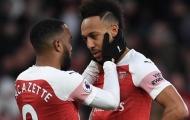 Trang chủ Arsenal ra thông báo về Aubameyang và Lacazette